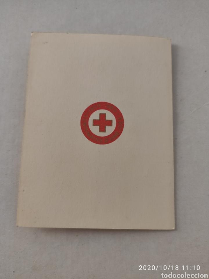 Sellos: Carnet Francia 1959 cruz roja - Foto 3 - 221448852