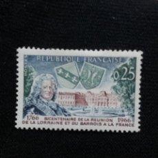 Sellos: FRANCIA, 0,25C, DEUXIERNE CENTENAIRE, AÑO 1966. SIN USAR.. Lote 221601190