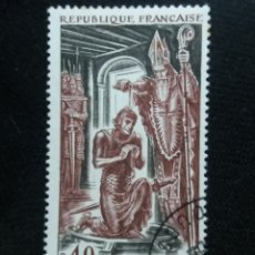 Sellos: FRANCIA, 0,40C, CLOVIS, AÑO 1968. SIN USAR.. Lote 221604773