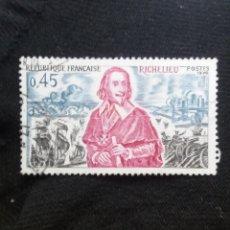 Sellos: FRANCIA, 0,45C, RICHELIEU, AÑO 1970.. Lote 221605737