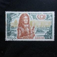 Sellos: FRANCIA, 0,45C, LOUIS XIV, AÑO 1970. SIN USAR. Lote 221607286