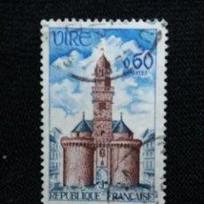 Sellos: FRANCIA, 0,60C, VIRE, AÑO 1967.. Lote 221707945