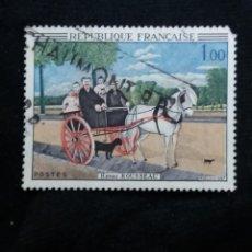 Sellos: FRANCIA, 1,00F, HENRI DE MYRIAM, AÑO 1966.. Lote 221712657