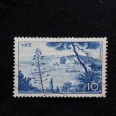 Sellos: FRANCIA, 10C, NICE, AÑO 1955. SIN USAR.. Lote 221824220