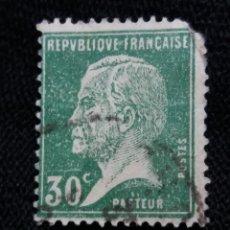 Sellos: FRANCIA, 30C, PASTEUR, AÑO 1925,. Lote 222066737