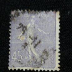 Sellos: FRANCIA, 45C, SEMBRADORA, AÑO 1922,. Lote 222067185