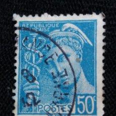Sellos: FRANCIA, 50C, OCUPACION, AÑO 1942,. Lote 222067397