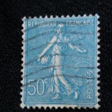 Sellos: FRANCIA, 50C, SEMBRADORA, AÑO 1925,. Lote 222067900