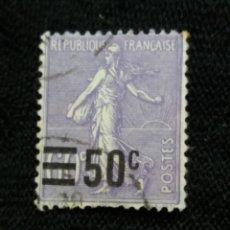 Sellos: FRANCIA, 50C, SEMBRADORA, AÑO 1926, SOBREESCRITO.. Lote 222068111