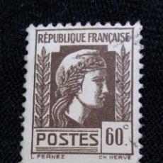 Sellos: FRANCIA, 60C, FERNEZ, AÑO 1926, SIN USAR. Lote 222068285