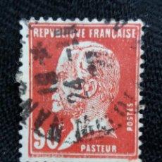 Sellos: FRANCIA, 90C, PASTEUR, AÑO 1926,. Lote 222069561