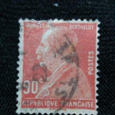 Sellos: FRANCIA, 90C, MARCELIN BERTH, AÑO 1940,. Lote 222069816