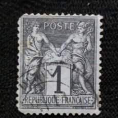 Sellos: FRANCIA, 1C PAXY MERCUR, AÑO 1887,. Lote 222071137