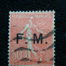Sellos: FRANCIA, 50C SEMBRADORA, AÑO 1922, F.M.. Lote 222071427