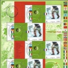 Sellos: SELLOS DE FRANCIA AÑO 2002. HOJA BLOQUE Nº 49. CATÁLOGO YVERT. NUEVA. FACIAL 4,60 EUROS. Lote 222083435