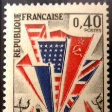 Sellos: FRANCIA 1965- FOTO 058 - Nº 1450 , IVERT , NUEVO. Lote 222251202