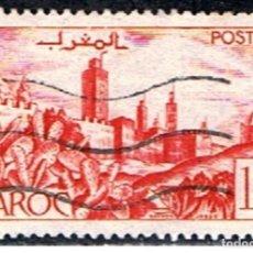 Sellos: MARRUECOS FRANCES // YVERT 262 // 1947-49 ... USADO. Lote 222269848