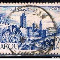 Sellos: MARRUECOS FRANCES // YVERT 265 A // 1947-49 ... USADO. Lote 222269972