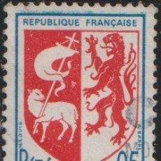 Sellos: FRANCIA 1966 SCOTT 1142 SELLO º ESCUDO DE ARMAS AUCH MICHEL 1534A YVERT 1468 FRANCE STAMPS TIMBRE. Lote 222599207