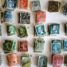 Timbres: LOTE 150 ANTIGUOS SELLOS FRANCESES S XIX/XX. Lote 225339308