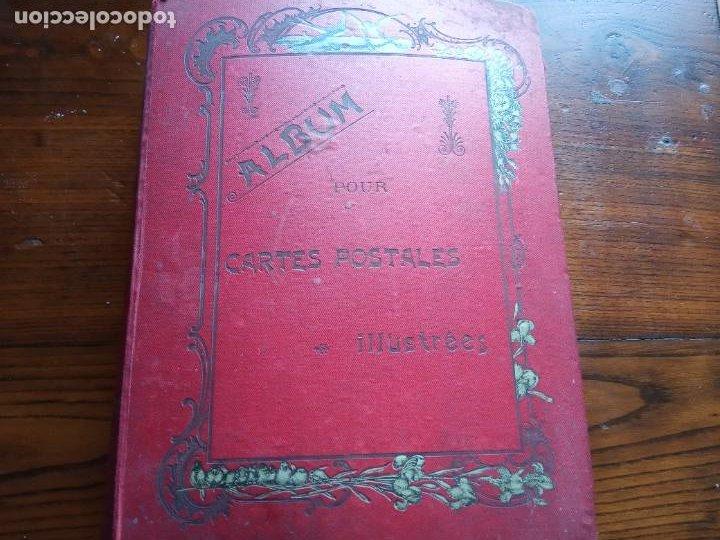 ANTIGUO ALBUM CON 398 TARJETAS POSTALES FRANCIA. (Sellos - Extranjero - Europa - Francia)