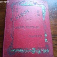 Sellos: ANTIGUO ALBUM CON 398 TARJETAS POSTALES FRANCIA.. Lote 225781243