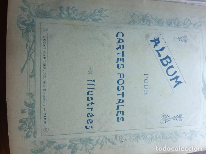 Sellos: ANTIGUO ALBUM CON 398 TARJETAS POSTALES FRANCIA. - Foto 2 - 225781243
