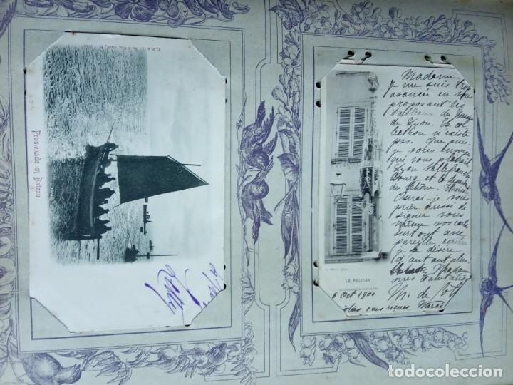 Sellos: ANTIGUO ALBUM CON 398 TARJETAS POSTALES FRANCIA. - Foto 67 - 225781243