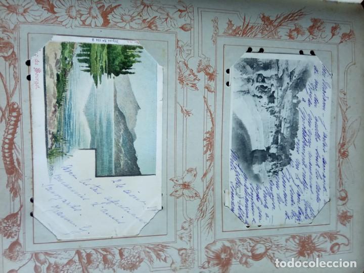 Sellos: ANTIGUO ALBUM CON 398 TARJETAS POSTALES FRANCIA. - Foto 77 - 225781243