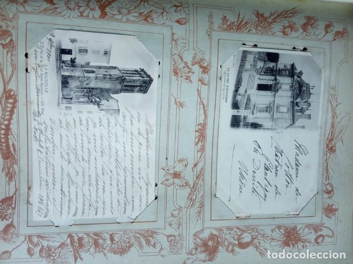 Sellos: ANTIGUO ALBUM CON 398 TARJETAS POSTALES FRANCIA. - Foto 81 - 225781243