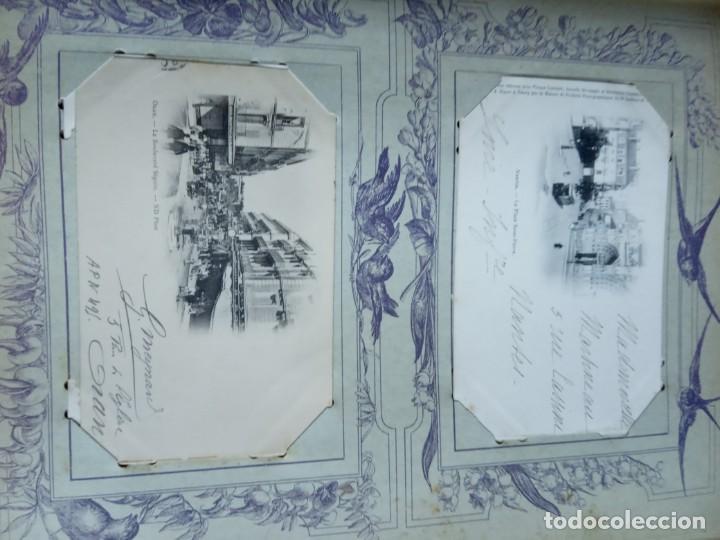Sellos: ANTIGUO ALBUM CON 398 TARJETAS POSTALES FRANCIA. - Foto 83 - 225781243