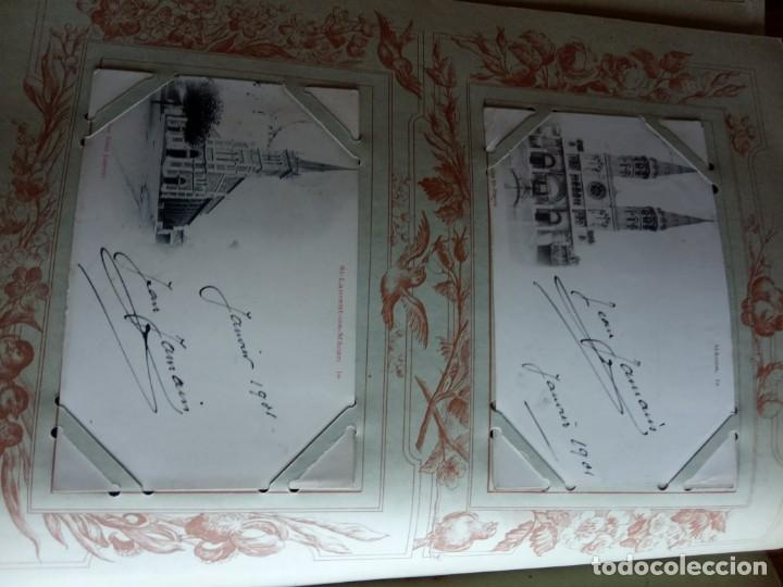 Sellos: ANTIGUO ALBUM CON 398 TARJETAS POSTALES FRANCIA. - Foto 84 - 225781243