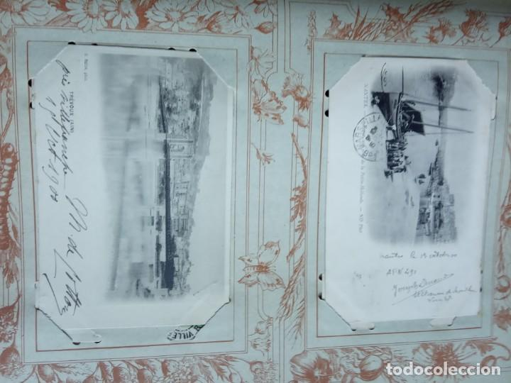 Sellos: ANTIGUO ALBUM CON 398 TARJETAS POSTALES FRANCIA. - Foto 89 - 225781243