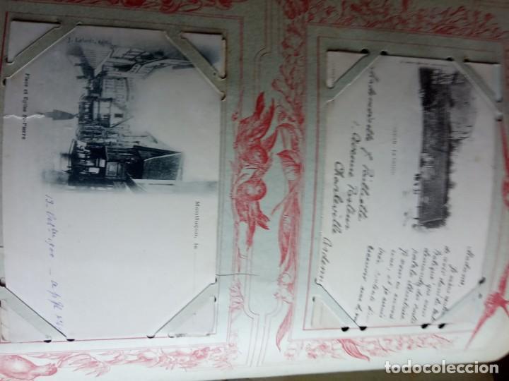 Sellos: ANTIGUO ALBUM CON 398 TARJETAS POSTALES FRANCIA. - Foto 104 - 225781243