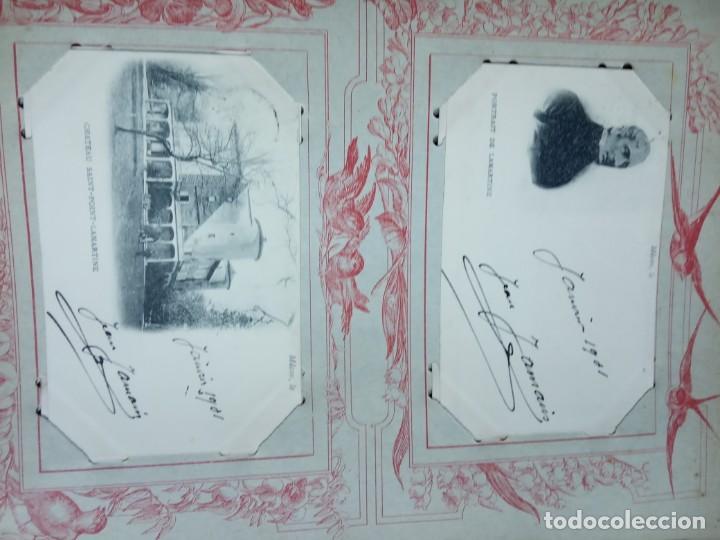 Sellos: ANTIGUO ALBUM CON 398 TARJETAS POSTALES FRANCIA. - Foto 109 - 225781243