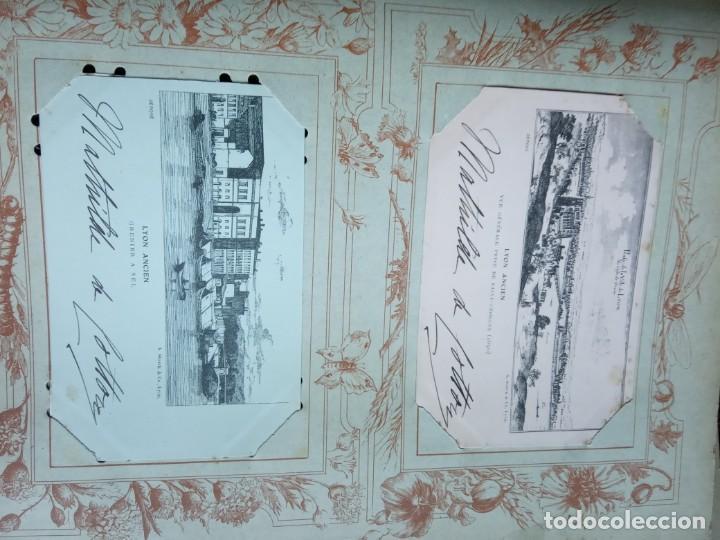Sellos: ANTIGUO ALBUM CON 398 TARJETAS POSTALES FRANCIA. - Foto 117 - 225781243