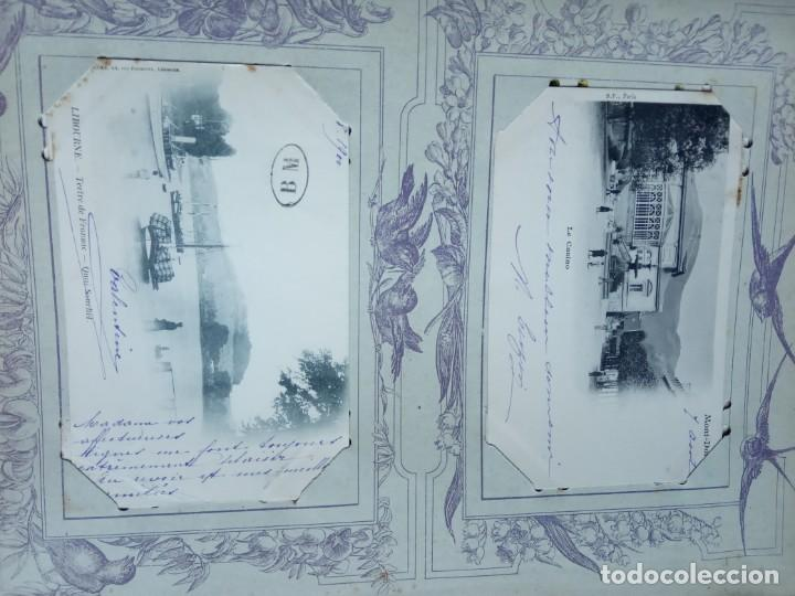 Sellos: ANTIGUO ALBUM CON 398 TARJETAS POSTALES FRANCIA. - Foto 119 - 225781243