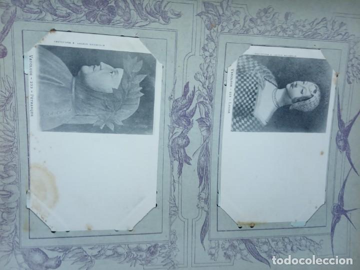 Sellos: ANTIGUO ALBUM CON 398 TARJETAS POSTALES FRANCIA. - Foto 139 - 225781243