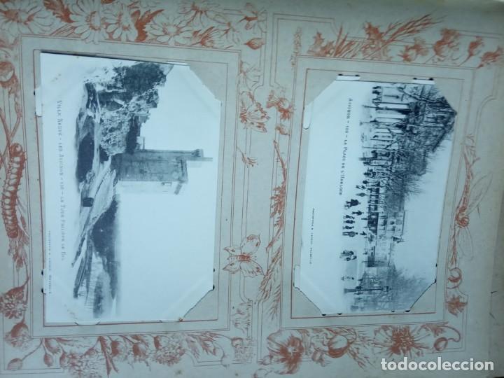 Sellos: ANTIGUO ALBUM CON 398 TARJETAS POSTALES FRANCIA. - Foto 141 - 225781243
