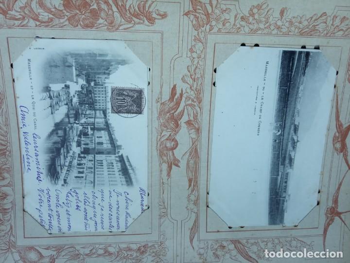 Sellos: ANTIGUO ALBUM CON 398 TARJETAS POSTALES FRANCIA. - Foto 171 - 225781243