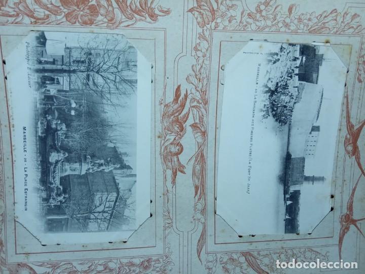 Sellos: ANTIGUO ALBUM CON 398 TARJETAS POSTALES FRANCIA. - Foto 175 - 225781243