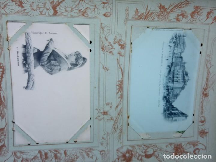 Sellos: ANTIGUO ALBUM CON 398 TARJETAS POSTALES FRANCIA. - Foto 187 - 225781243
