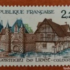Sellos: FRANCIA N°2403 MNH**AÑO 1986 (FOTOGRAFÍA REAL). Lote 225795985