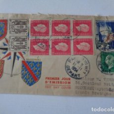 Sellos: FRANCIA. FIRST DAY COVER. PARIS 1951. LES EDITIONS PHILATELIQUES CERES.. Lote 225839705