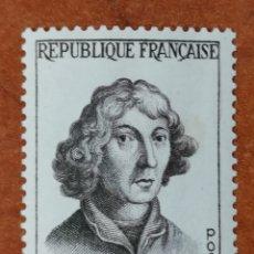Sellos: FRANCIA N°1132 MH*PERSONAJES 1957 (FOTOGRAFÍA REAL). Lote 225864100