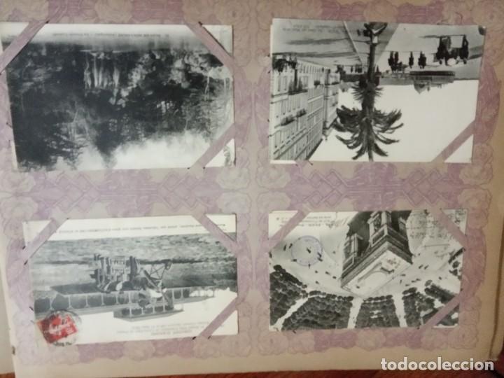 Sellos: ANTIGUO ALBUM CON 490 TARJETAS POSTALES FRANCIA. - Foto 33 - 226376160