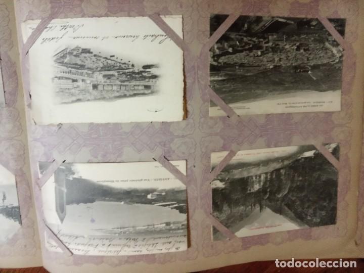 Sellos: ANTIGUO ALBUM CON 490 TARJETAS POSTALES FRANCIA. - Foto 43 - 226376160
