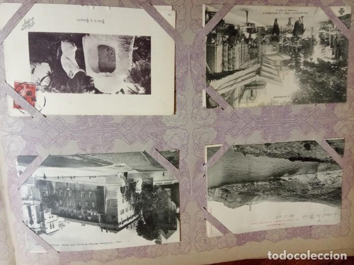 Sellos: ANTIGUO ALBUM CON 490 TARJETAS POSTALES FRANCIA. - Foto 71 - 226376160