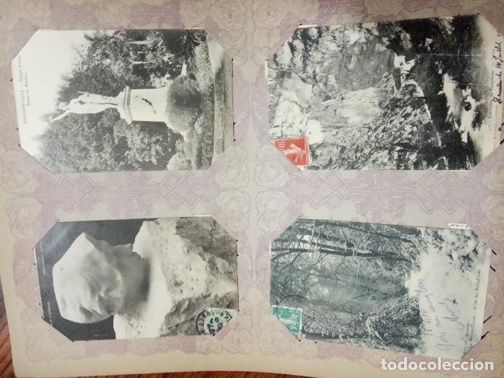 Sellos: ANTIGUO ALBUM CON 490 TARJETAS POSTALES FRANCIA. - Foto 72 - 226376160