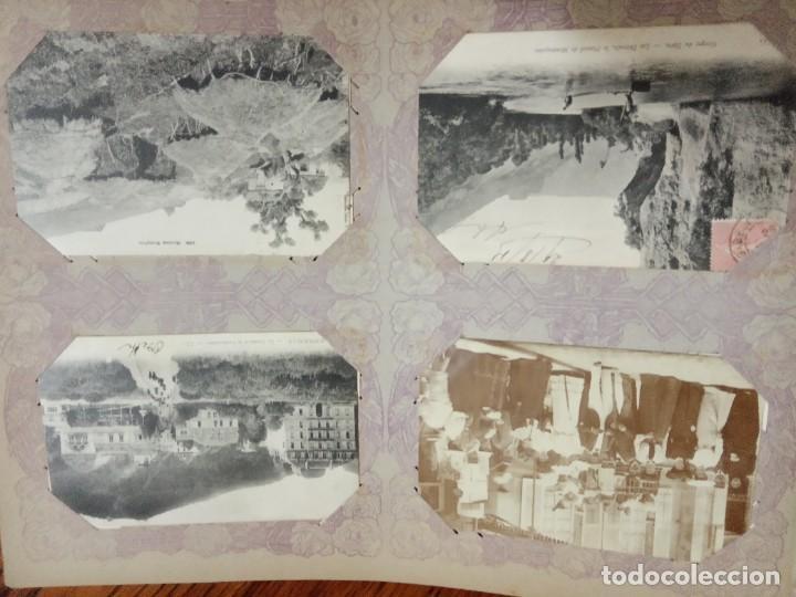 Sellos: ANTIGUO ALBUM CON 490 TARJETAS POSTALES FRANCIA. - Foto 76 - 226376160